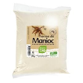 FARINE DE MANIOC - RACINES BIO