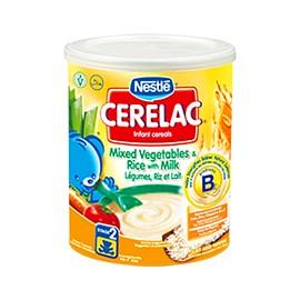 Cérélac Légumes, riz et lait - NESTLE - CERELAC