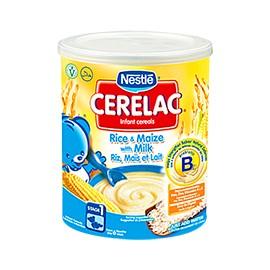 Cérélac Riz, maïs et lait - NESTLE