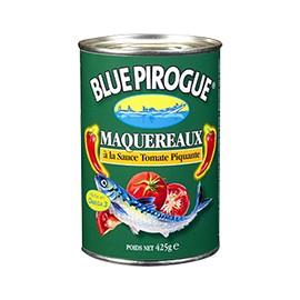 Maquereaux à la sauce tomate piquante - BLUE PIROGUE