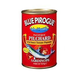 Pilchards à la sauce tomate piquante - BLUE PIROGUE