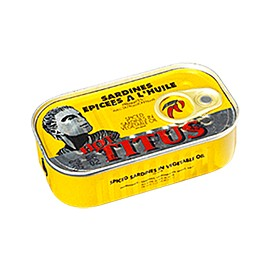 Sardines à la sauce piquante - TITUS