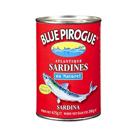 Sardines au naturel - BLUE PIROGUE