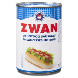 Saucisses hot dog porc - ZWAN