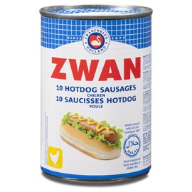 Saucisses hot dog poulet - ZWAN