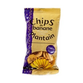 Chips douces de banane plantain - RACINES