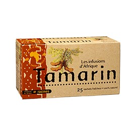 Infusion d'Afrique Tamarin - RACINES - Infusions d'Afrique