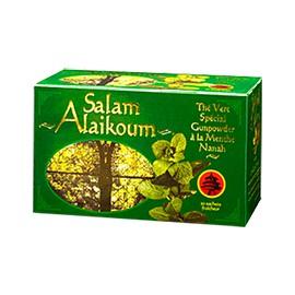 Thé vert Spécial Gunpowder à la menthe nanah - RACINES - SALAM ALAIKOUM