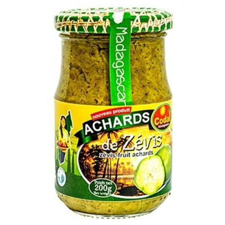 Achards de zévis - CODAL 200g