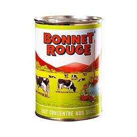 Lait concentré non sucré - BONNET ROUGE