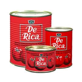 Double concentré de tomates - DE RICA
