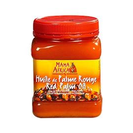Huile de palme rouge - MAMA AFRICA - bouteille cubique